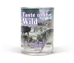 TASTE OF WILD Sierra Mountain Can Dog 390g