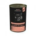 FITMIN cat For Life Sterile Salmon in gravy 415g