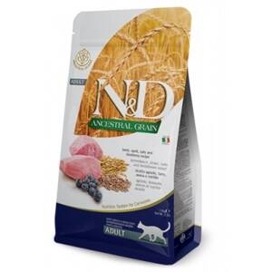 N&D cat LG Adult Lamb, Spelt, Oats & Blueberry