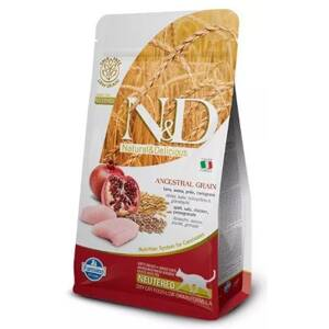 N&D cat LG Neutered Chicken, Spelt, Oats & Pomegranate