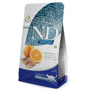 N&D cat Ocean Adult Herring and Orange