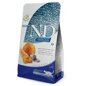 N&D cat Ocean Adult Herring, Pumpkin and Orange