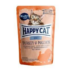 HAPPY CAT All Meat Adult Turkey & Pollack 85g