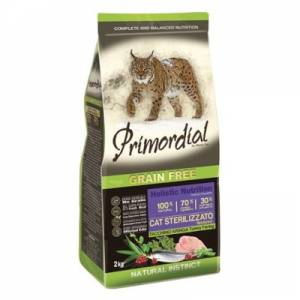 PRIMORDIAL Cat Sterilizzato Turkey & Herring