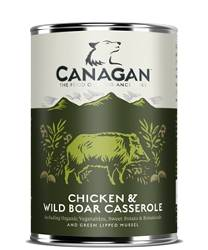 CANAGAN Chicken and Wild boar casserole 400g