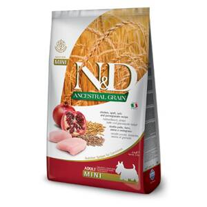 N&D dog AG Adult Mini Chicken, Spelt, Oats & Pomegranate