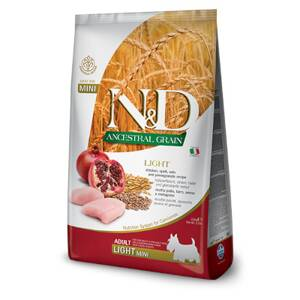 N&D dog AG Light Mini Chicken, Spelt, Oats & Pomegranate 2,5kg