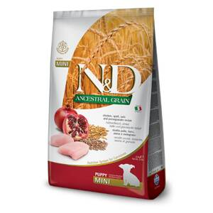 N&D dog AG Puppy Mini Chicken, Spelt, Oats & Pomegranate